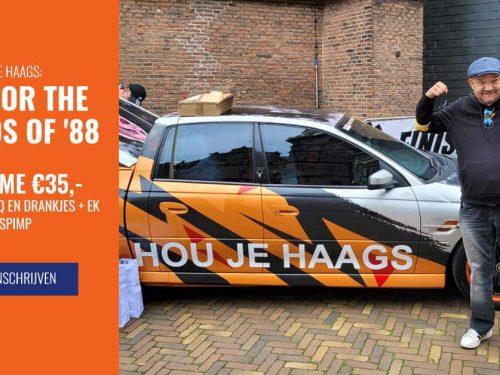 "Geannuleerd: Hou je Haags fietstour ""Ride for the Legends of '88′"""