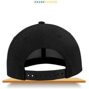FCDH Cap Kruis zwart achterkant