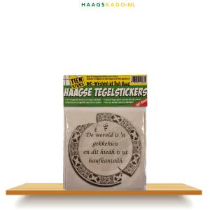Haagse WC-Tegelstickers