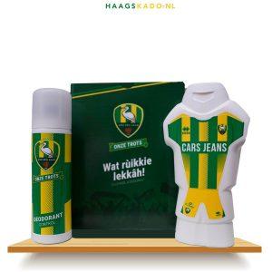 "ADO Den Haag ""Wat rùikkie lekkâh"" deodorant en douchegel"